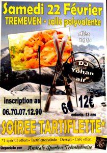 A.S.T. Soirée Tartiflette + DJ Yohan Air